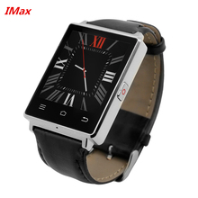 """Buy NO.1 D6 MTK6580 Quad Core 1.3GHz 1GB 8GB 1.63"""" 3G Smartwatch Phone Android 5.1 GPS WiFi Pedometer Heart Rate Monitor Smart Watch for $76.69 in AliExpress store"""