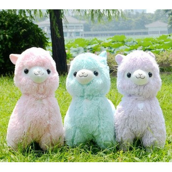 45 см Японский Alpacasso Мягкие Игрушки Куклы Гигантские Чучела Животных Игрушка 5 Цвета Kawaii Альпака Плюшевые Дети Рождественский Подарок