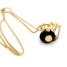 Vintage Alloy Telephone Pendant Necklaces Retro Gold Plated Long Sweater Chains Women Fashion Jewelry - hu hu's store