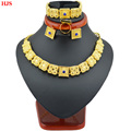 Eritrean jewelry sets 22k Gold plated chain bracelet ring earring jewelry sets for Ethiopian Eritrean Women