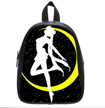 New Arrival Sailor moon Custom Fashionable Backpack Best Selling Stylish School Bags Cartoon Style For Boys Girls Free Shipping(China (Mainland))