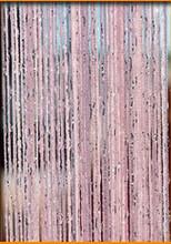 Błyszczące Tassel srebrna linia zasłona sznurkowa 300*290cm i 100x200cm moda Valance życia parawan ślubne dekoracje dla domu diy(China)