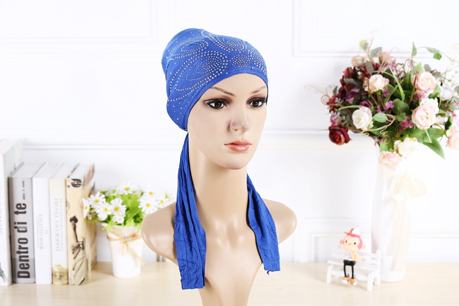 10 colors Free shipping Hot Adult Cotton Muslim Hijab  Wholesale Scarf under cover  Muslim Cotton Hijab Cap Islamic Head Wear