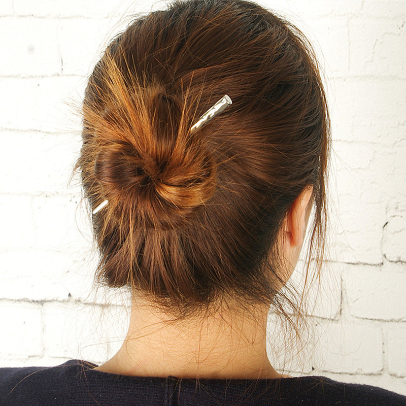 Hot Sale Alloy Simple font b Hair b font Sticks Korean New Fashion font b Hair