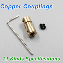 21 Kinds Specifications Copper Couplings, Shaft Coupling Accessories, HM Boat Copper Coupling accessories(China (Mainland))