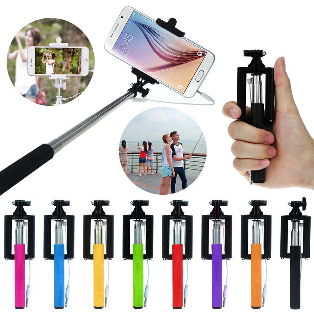 super deal 2016 super mini extendable stick holder handheld fold self portrait monopod for. Black Bedroom Furniture Sets. Home Design Ideas