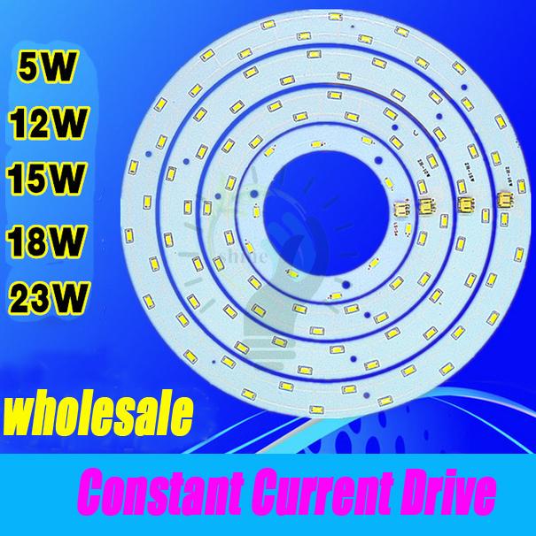 Гаджет  5W-23W Round SMD 5730 LED Ceiling Light Retrofit Magnet Board Fluorescent CFL Lamp Emergency Replace PCB Kit LED Ring Tube None Свет и освещение