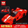 New Lepin 21009 632Pcs Genuine Creative Series The Out of Print 1 17 Racing Car Set