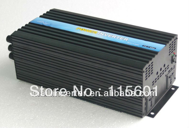 3000w/3kw Inverter For Home DC24V TO AC220V Pure Sine Wave Factory Direct Selling One Year Warranty(China (Mainland))