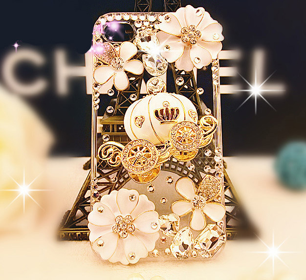 New arrival for for iphone 6plus diamond mobile phone protective case pumpkin car phone case water brick phone case(China (Mainland))