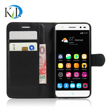 Gift case ZTE blade V7 lite Business Wallet design Litchi pattern stand Leather phone Case - Klaido Electronics Co., Ltd store