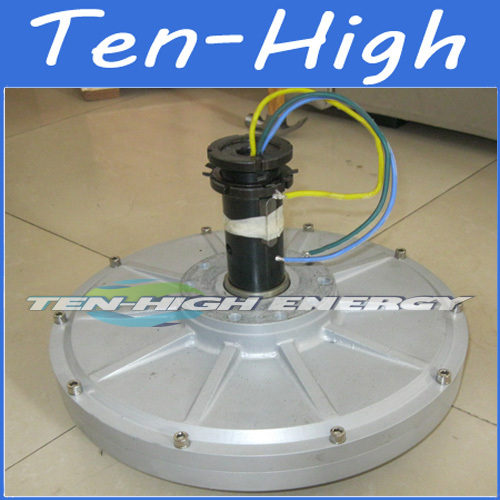 Fedex Freeshipping 1000w 1kw 300rpm Maglev Disc Coreless