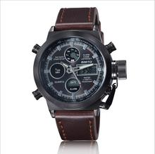 2016 Man s sport watch relojes de los hombres High Quailty panske hodinky leather horloges mannen