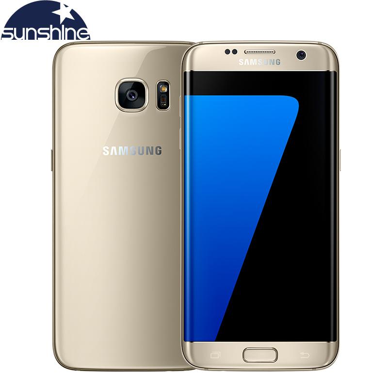 Original Samsung Galaxy S7 Edge 4G LTE Mobile Phone Octa Core 5.5 inch 12.0 MP 4GB RAM 32GB ROM NFC Waterproof Smartphone(China (Mainland))