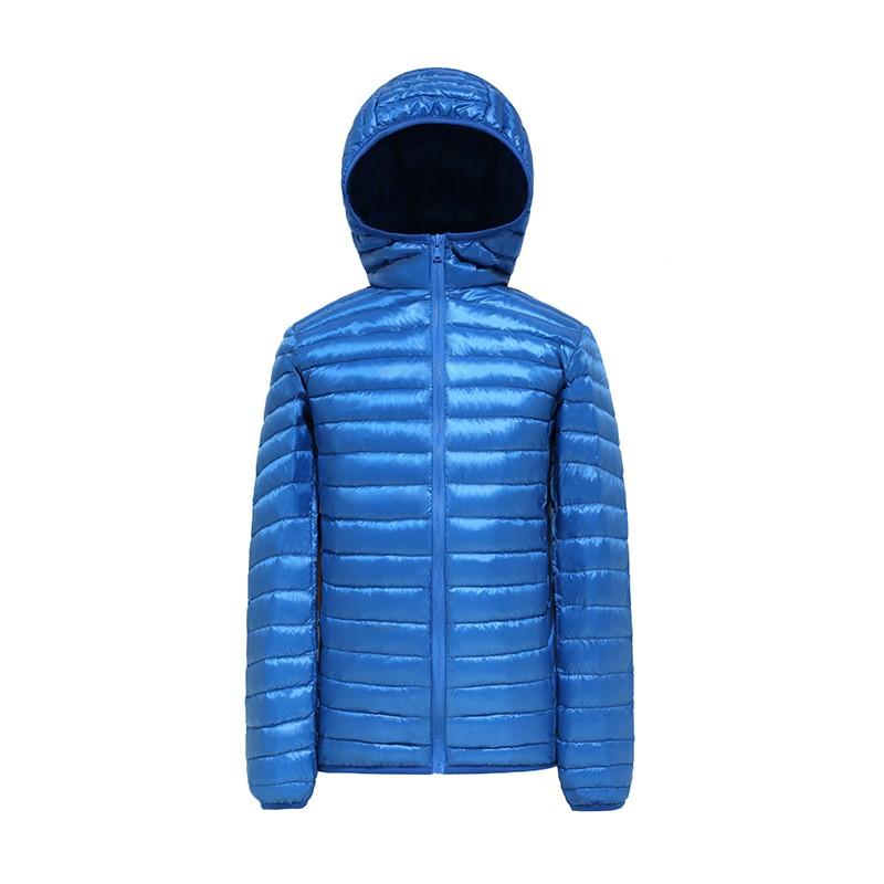 2016 moda erkekler Sonbahar kış aşağı sıcak ceket saf renk var şapka uzun kollu yüksek kalite İnce İnce sıcak casual aşağı coat
