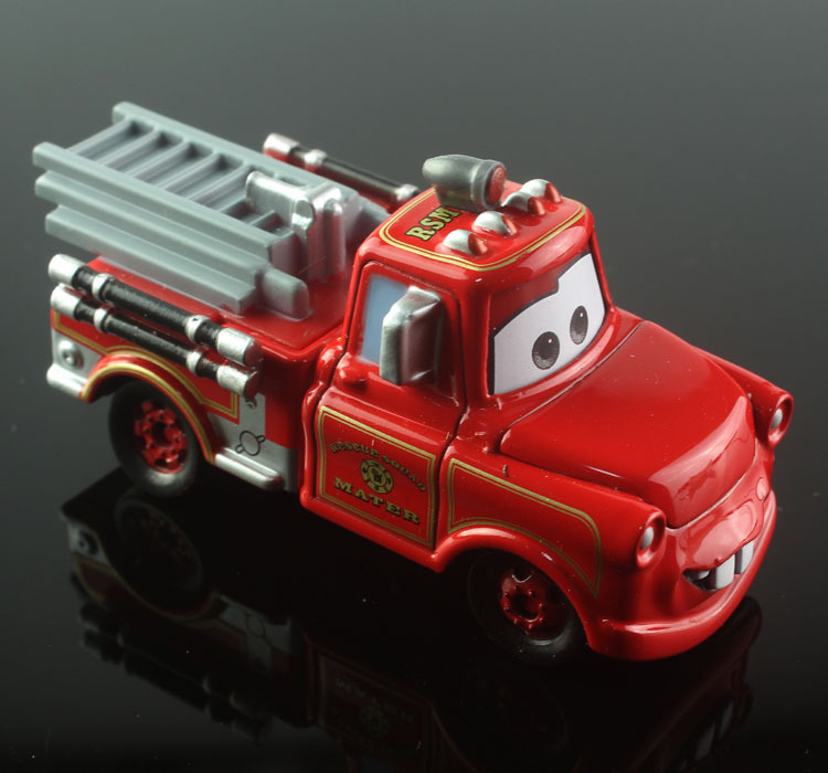 1:48 disny mini kids tomica tomy cars cute mater tow truck fire fighting truck alloy metal die cast race car diecast models toys(China (Mainland))