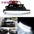 Tiptop New 8LED Daytime Driving Running Light DRL Car Fog Lamp Waterproof White DC 12V Free