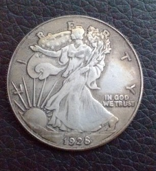 "WHOLESALE (1916-1946) 24 ""S"" Walking Liberty Half Dollar Coin /FREE SHIPPING/FOR COLLECTION ONLY(China (Mainland))"