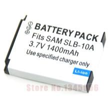 1400mAh SLB-10A 10A Battery for SAMSUNG ES55 ES60 PL50 PL60 L110 L100 L210 PL51 PL55 WB550 WB150F WB280 WB201 WB2100 WB800 WB750
