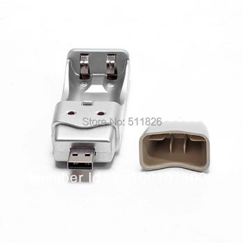 Free Shipping USB Charger Ni-MH AA/AAA Rechargeable Battery #9561
