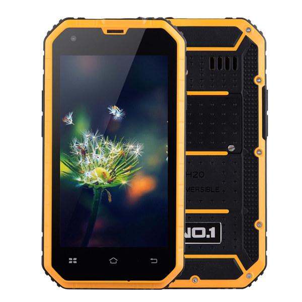 Special Price NO.1 M2 4.5-inch MTK6582 1.3Ghz IP68 Waterproof Quad-core Android Smartphone Outdoor 1GB RAM 8GB ROM 5MP+13MP 3G(China (Mainland))