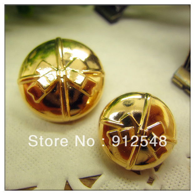 18mm,10pcs/lot alloy metal button in gold color,classic fashion Art buttons, garment accessories,JX031(China (Mainland))