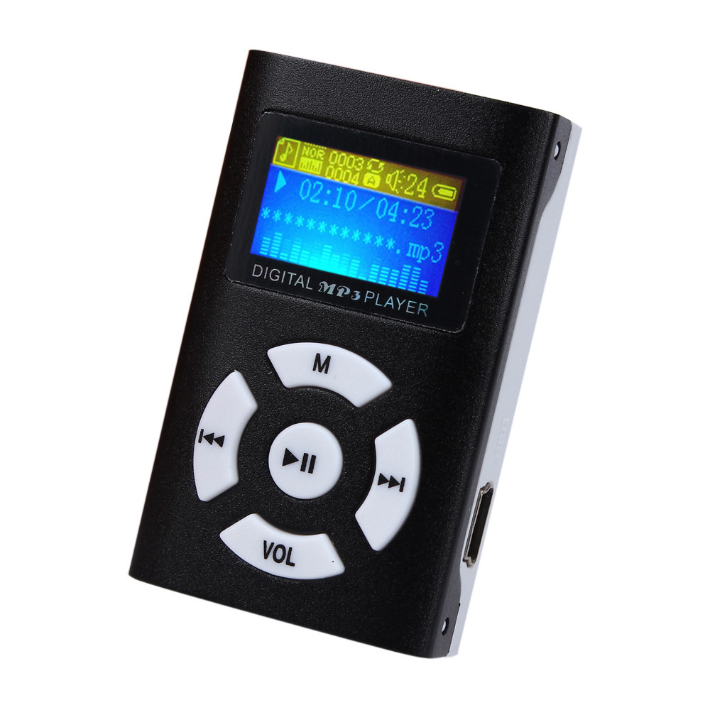 New Arrival USB Mini MP3 Player Music Media Player wtih LCD Screen Support 32GB Micro SD TF Card USB 2.0/1.1 #LYN09(China (Mainland))