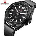 New Luxury Brand NAVIFORCE Watches Men Quartz Hour Date Leather Clock Man Sports Army Military Wrist