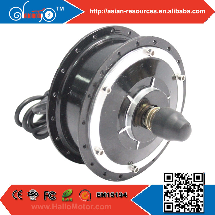 Фотография Wholesale New 48V 350W Electric Bicycle Ebike Brushless Gearless Mini Hub Motor Front Wheel Motor Support Disc Brake