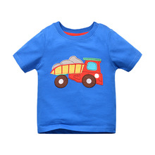 Buy 1-6 Years Summer Kids Cartoon Cotton Short Sleeve T Shirt Baby Tops Baby Girl Boys T-shirt Kids Clothes Boy Clothing for $6.94 in AliExpress store