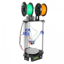 DIY 3D Printer Delta Rostock Mini G2s DIY Kit With Auto leveling Double Extruder