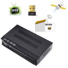DVB-S2 Wifi IPTV Digital Satellite Set Top BOX TV Receiver PVR Record Timeshift Youtbe Internet Radio IPTV and OTT
