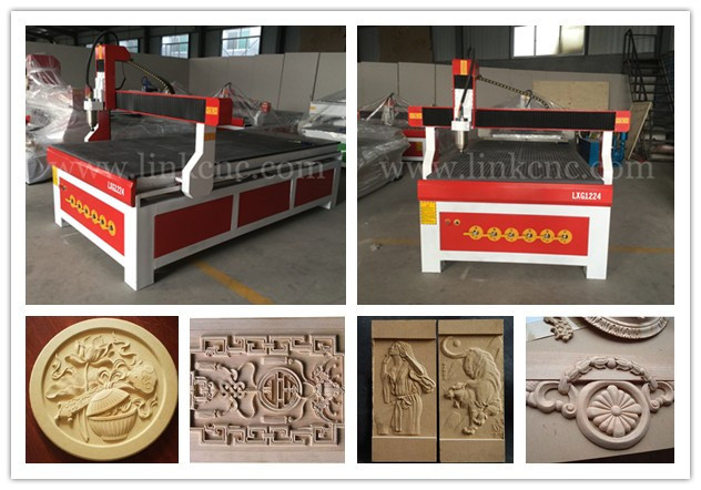 reduction sale and high Performance router cnc/New nodel cnc router 1224(vacuum table )(China (Mainland))