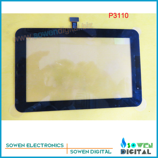 for Samsung GALAXY Tab P3100 P3110 touch screen digitizer touch panel,Black or White, new