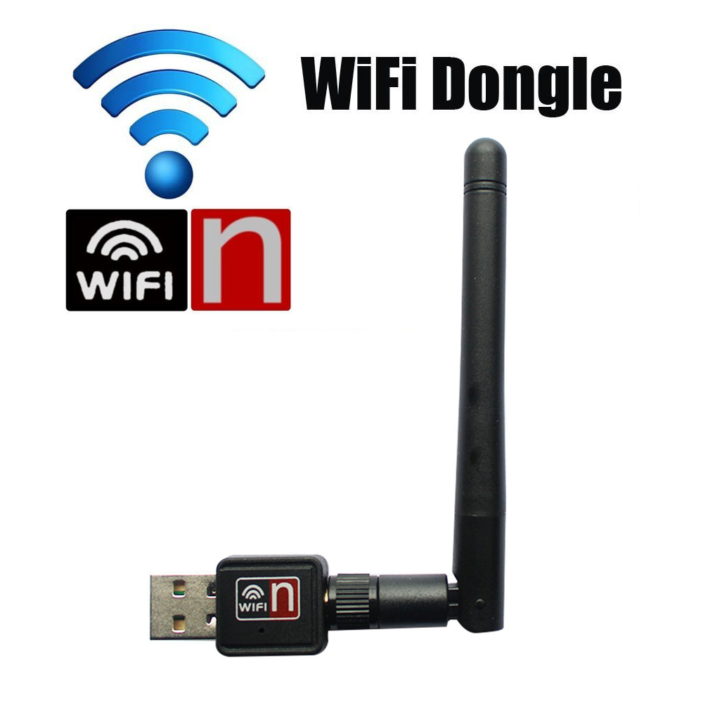 External Wireless WiFi Adapter USB Dongle Stick 5dB Wifi Antenna 150Mbps Lan Wireless Network Card WiFi Receiver 802.11n/g/b(China (Mainland))