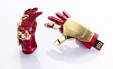 2015 RBT Real Capacity High Speed Avenger Iron Man Hand 8GB 16GB 32GB Pen Drive Pendrive USB Flash Drive For PC Free Shipping