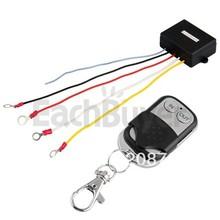 50 pcs/lot 12V 15m Wireless Remote Control Kit for Truck Jeep ATV Winch(China (Mainland))