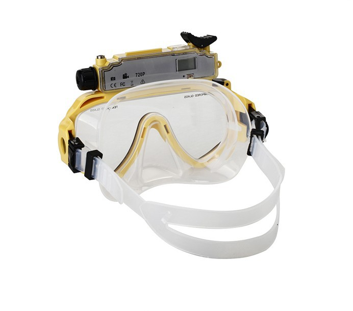 5.0 MP HD720p Scuba Diving Mask Camcorder underwater 30M diving dvr camcorder go pro action camera(China (Mainland))