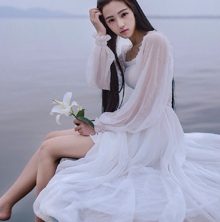 Popular White Fairy Dresses-Buy Cheap White Fairy Dresses lots ...