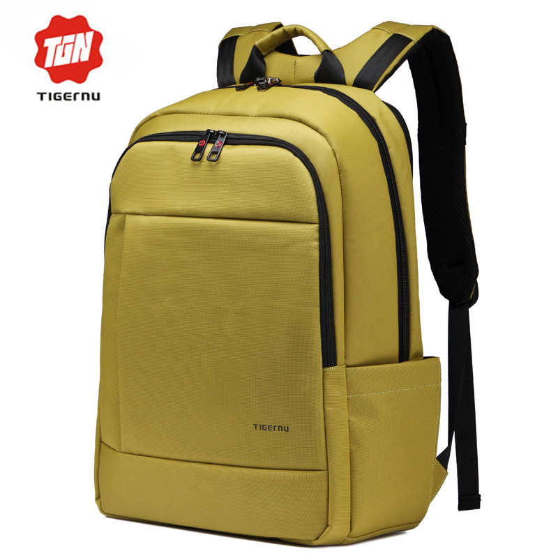 14-17 Inch Laptop Bag Brand Men Women Backpack Bag to School Large Space Compact Backpack School Bags for Teenagers Girls(China (Mainland))