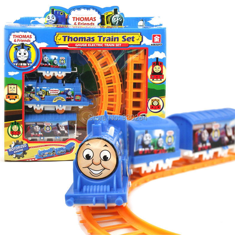 Creative Thomas Friends Trackmaster Train Railway Electric Thomas Train Set Locomotive Track Toys For Children Cars gifts(China (Mainland))