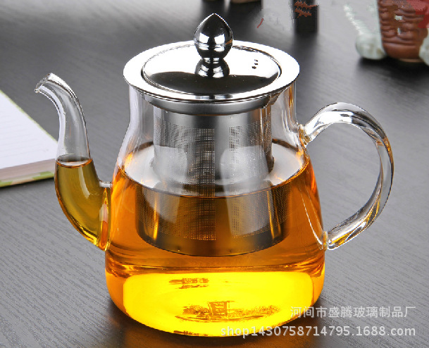 2015 New Arrival Torneira Cozinha Tankless Water Heater High Temperature Resistant Glass Teapot Wholesale Tea Kettle Pot Pyrex(China (Mainland))