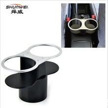 2016 New Double Car Cup Holder / Drinks Holders car accessories(China (Mainland))