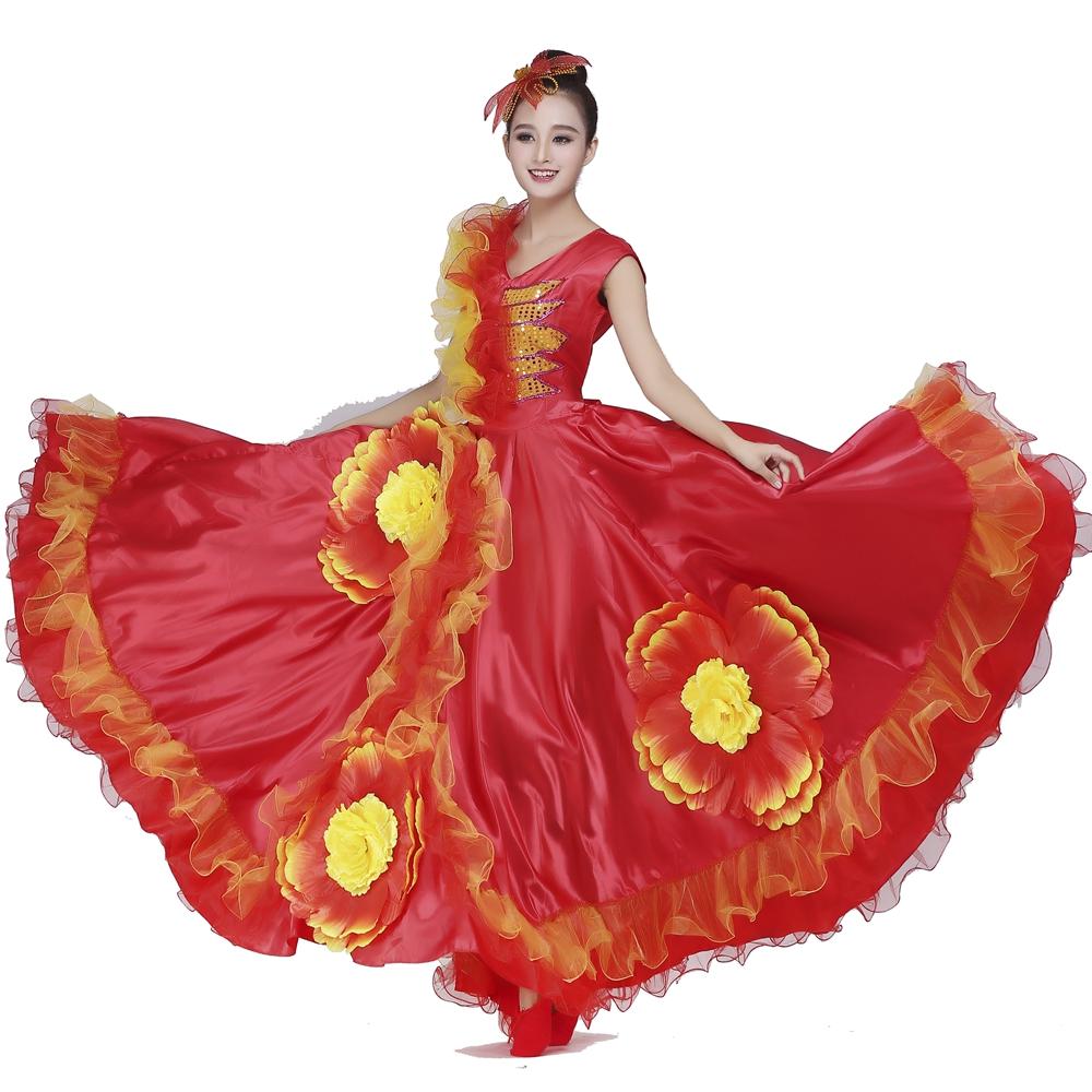 espagnol de danse robe achetez des lots petit prix. Black Bedroom Furniture Sets. Home Design Ideas
