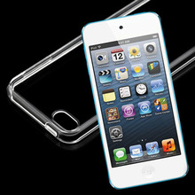 Soft Gel TPU Frosted Transparent Clear Case Cover for Apple iPod Touch 5 5th iTouch 5 Gen Skin Silicone White Crystal Discount(China (Mainland))