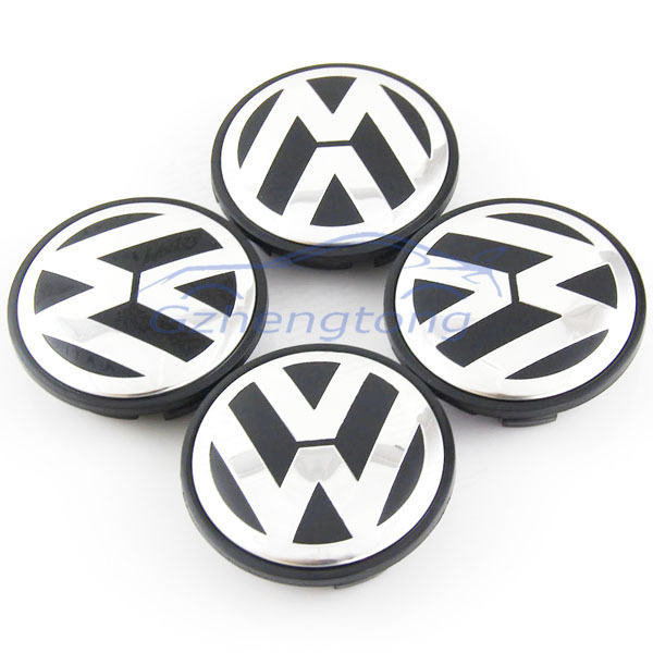 Car Wheel Hub Cover Caps Tire Center Caps Emblems Car Ctlying 4pcs 55mm 65mm 70mm 78mm For Volkswagen Free Shipping(China (Mainland))