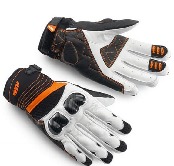 Купить Бесплатная доставка продаж новые модели 2014 KTM перчатки мото-перчатки внедорожники перчатки гонки кожаные перчатки