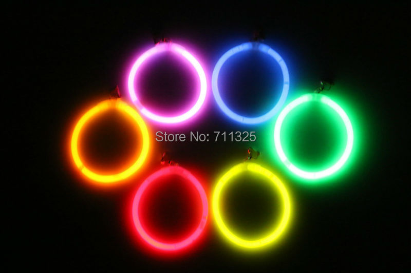 Party Fluorescence Ear Ring Stick Liquid Glow Sticks Party Supply Earring(China (Mainland))