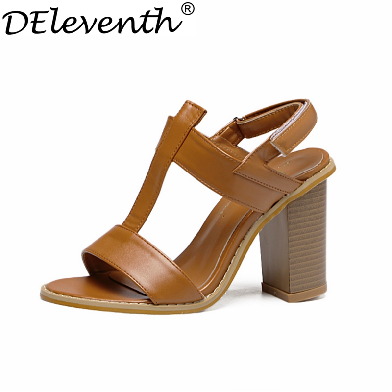 Awesome 2016 New Women Shoes Women Sandals High Heels Party Shoes Peep Toe