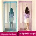 2015 New Hot Hands free Magic Mesh Magnetic Screen Mosquito Net Kitchen Door Curtain Anti Bug